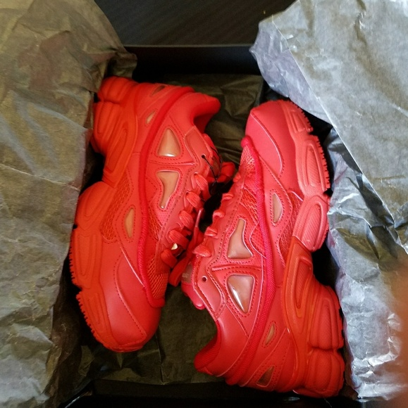half off f521f 86dba Raf Simons Ozweego 3 All Red NWT